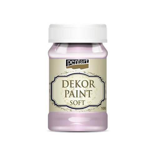 Χρώμα κιμωλίας Dekor Paint Soft 100ml Pentart, Cherry Blossom