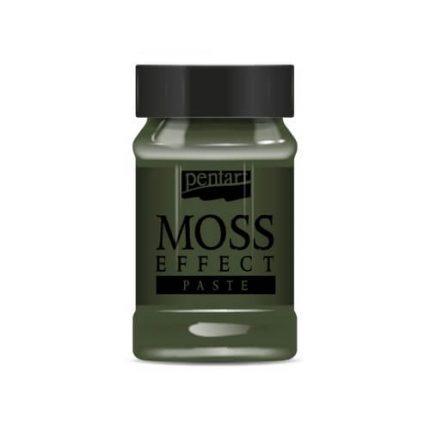 Moss effect paste, Dark Green 100 ml, Pentart