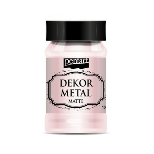 Dekor Metal (μεταλλικό Κιμωλίας) Pentart 100 Ml, Rose Gold