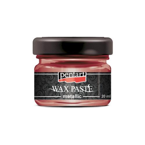 Πατίνα Wax paste Metallic 20ml Pentart - Fire Gold