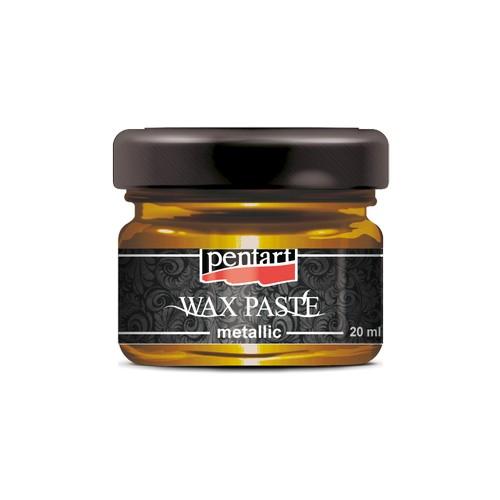 Πατίνα Wax paste Metallic 20ml Pentart - Honey Gold