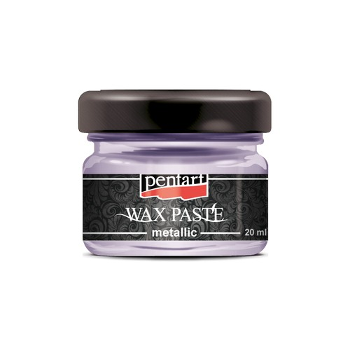 Πατίνα Wax paste Metallic 20ml Pentart - Rose Gold