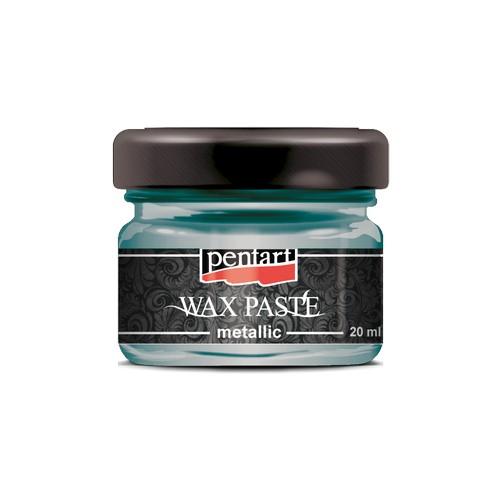 Πατίνα Wax paste Metallic 20ml Pentart - Turtle Green