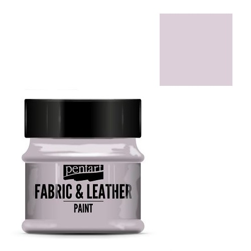 Fabric and leather paint 50 ml, Pentart -Χρώμα για ύφασμα και δέρμα, Victorian Pink