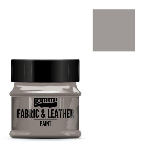 Fabric and leather paint 50 ml, Pentart -Χρώμα για ύφασμα και δέρμα, Sand