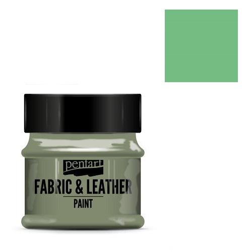 Fabric and leather paint 50 ml, Pentart -Χρώμα για ύφασμα και δέρμα, Pistachio