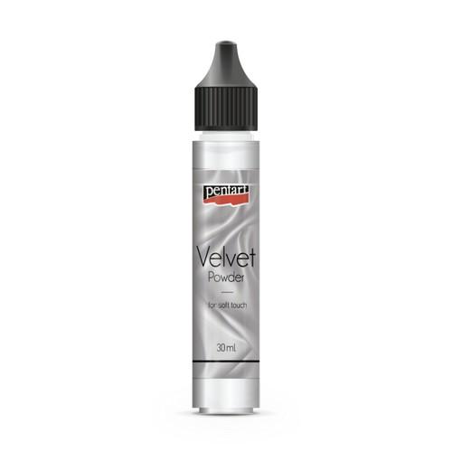 Velvet powder 30 ml Pentart, White