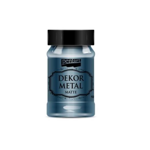 Dekor Metal (μεταλλικό κιμωλίας) Pentart 100 ml, Oxford Blue