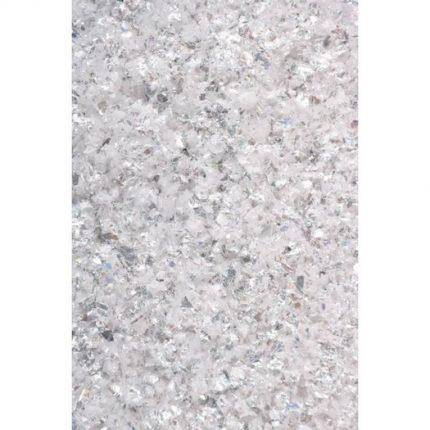 Galaxy Flakes Pentart,15 g Mercury white