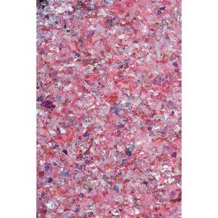 Galaxy Flakes Pentart,15 g  Eris pink