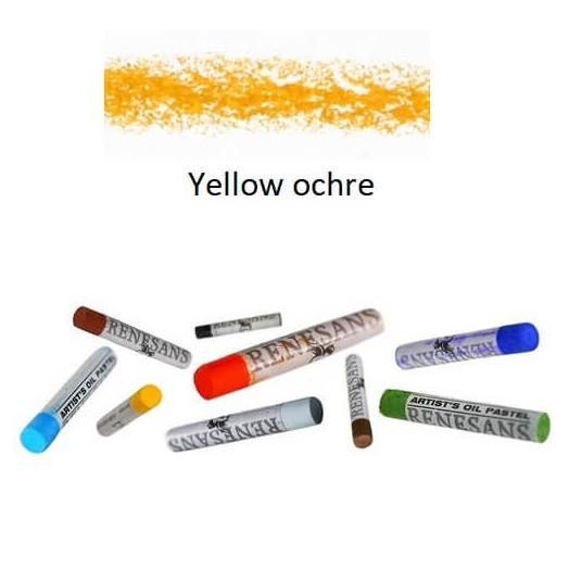 Λαδοπαστέλ oil pastel fine Renesans - Yellow ochre