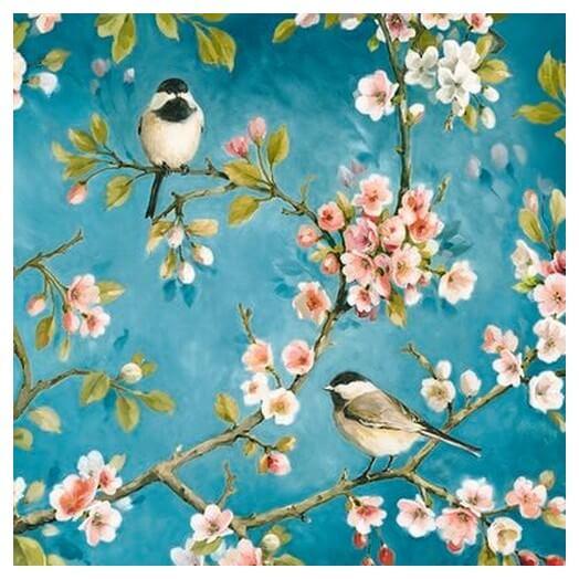Χαρτοπετσέτα για Decoupage Blossom, 1τεμ