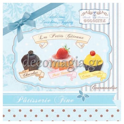 Χαρτοπετσέτα για Decoupage, 1τεμ