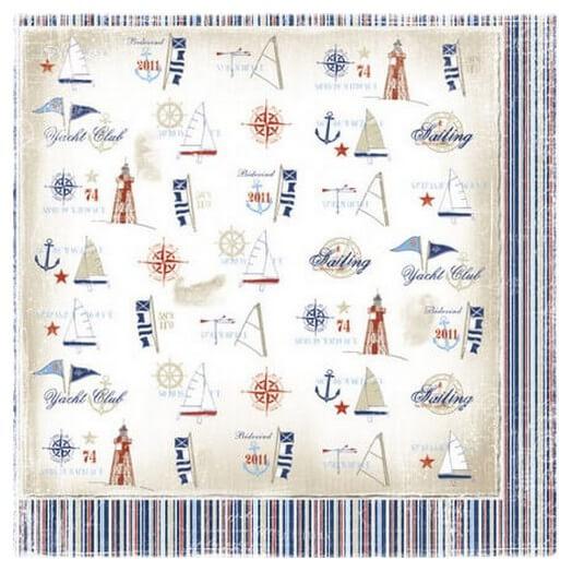 Χαρτί Scrapbooking Maja Collection, Life by the sea,  διπλής όψης