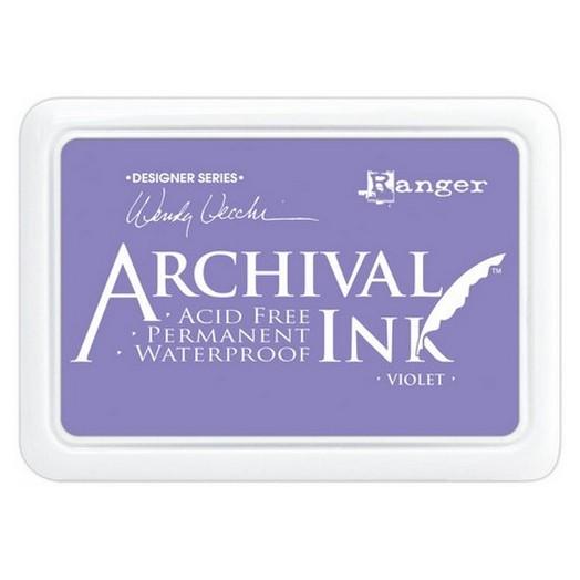 Ανεξίτηλο μελάνι Archival Ink Pad - Violet