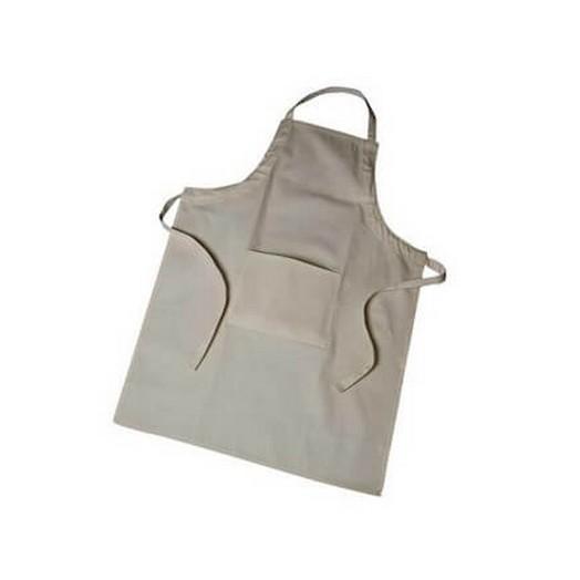 Υφασμάτινη ποδιά με τσέπη 70x75 cm, μπέζ