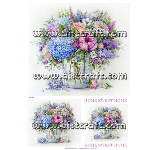 Ριζόχαρτo Aist 32x45cm, Beautiful Flowers, RP45515