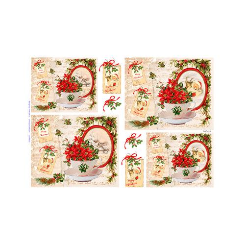 Ριζόχαρτo Aist Christmas 32x45cm, RP45632