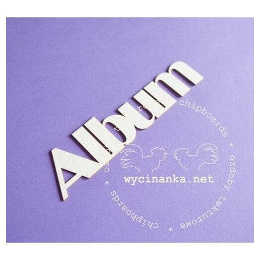 Διακοσμητικά Chipboard Album, 12 cm