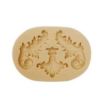 Καλούπι, baroque ornaments, 10x7cm
