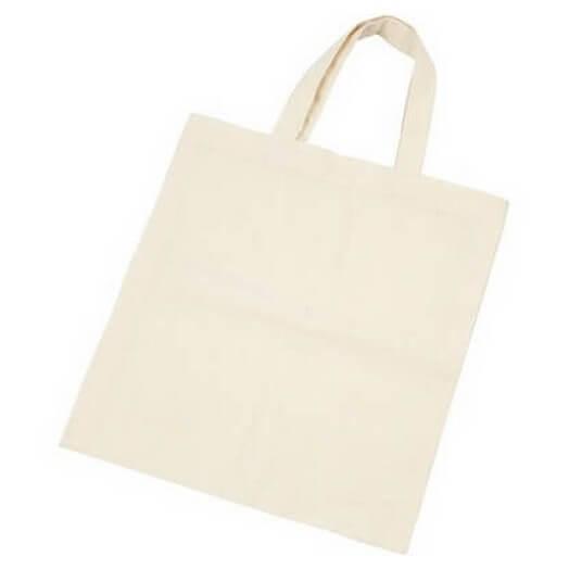 Υφασμάτινη τσάντα 38x42cm με μακρύ χερούλι