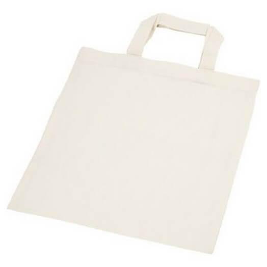 Υφασμάτινη τσάντα ivory 30x33cm