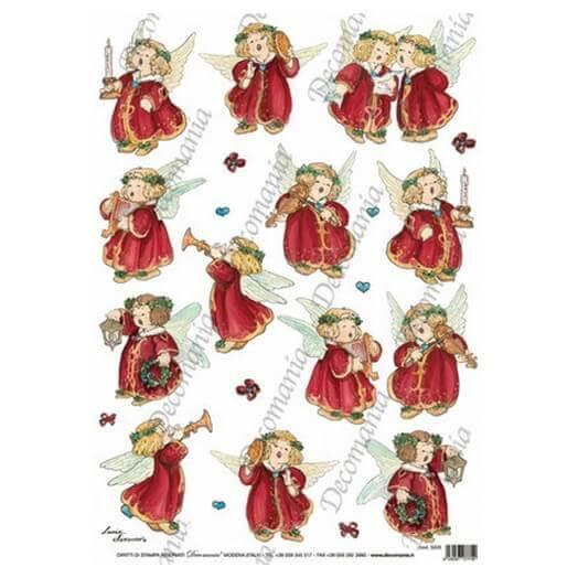 Ριζόχαρτο Decomania 35Χ50cm ,Χριστουγεννιάτικο