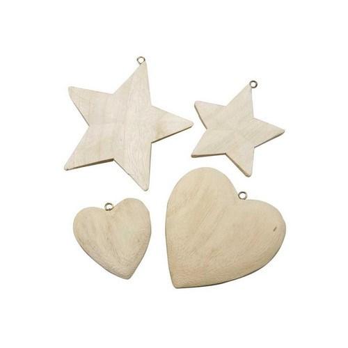 Αστέρια, καρδιές, Hearts & Stars, 4τεμ.