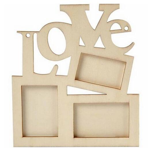 Κορνίζα Love 19,7x16 cm