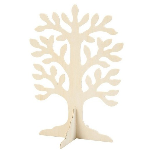 Δέντρο ξύλινο με βάση, 30x21,5cm
