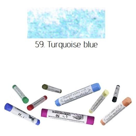 Soft pastel Extrafine Renesans - Turquoise blue