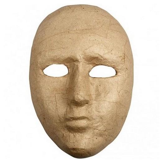 Μάσκα από Papier-Mache,16x23 cm