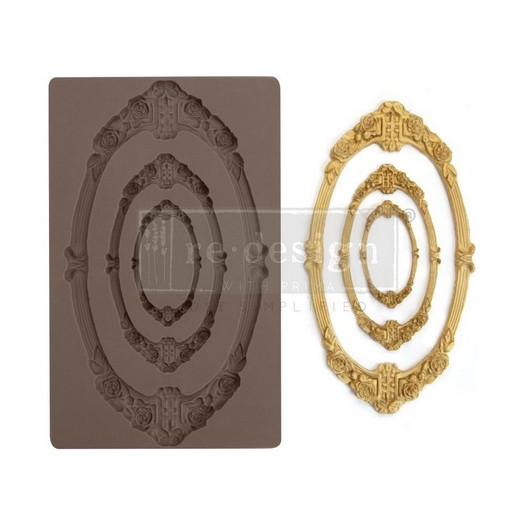 Καλούπι Re-Design Decor Mould, Sicily Frame