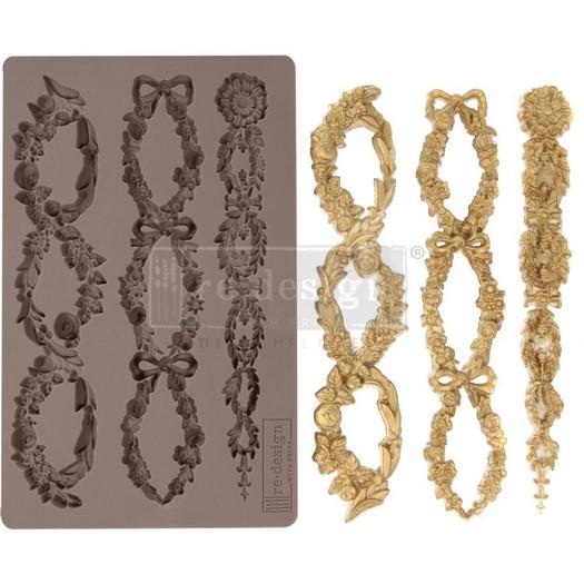 Καλούπι Re-Design Decor Mould, Floral Chain
