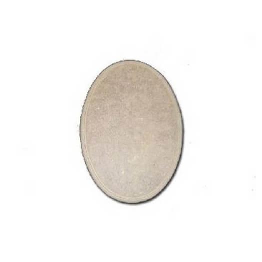 Mdf Medium Oval 20x15 cm