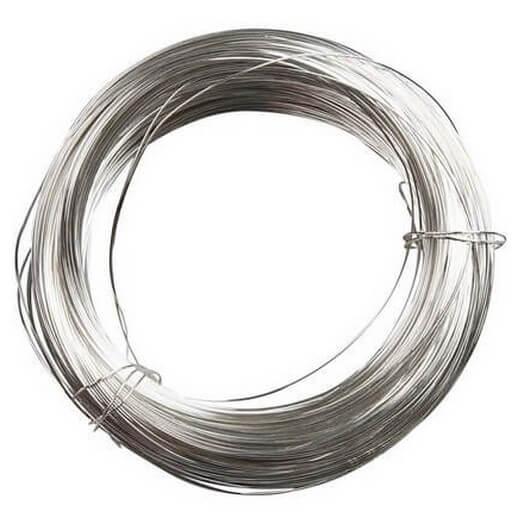 Σύρμα ασημένιο 0,6 mm, 10 m
