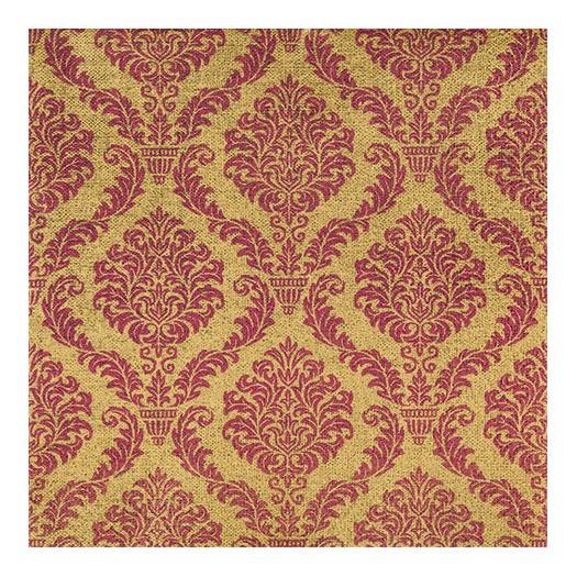 Χαρτοπετσέτα για decoupage, Elegant red/gold