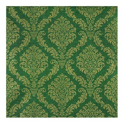 Χαρτοπετσέτα για decoupage, Elegant dark green/gold