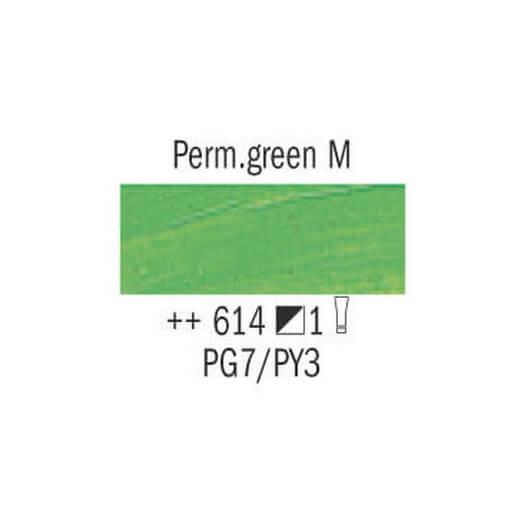 Λάδι Van Gogh Talens 20ml, Permanent Green Medium