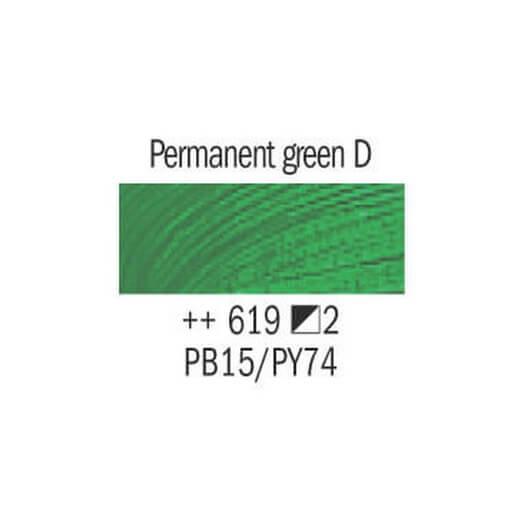 Λάδι Van Gogh Talens 20ml, Permanent Green Deep