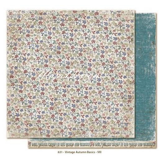 Χαρτί Scrapbooking Maja Collection, Vintage Autumn, διπλής όψης