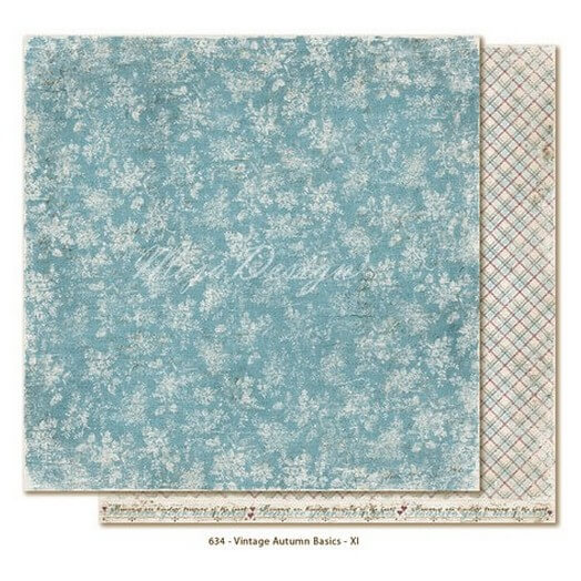 Χαρτί Scrapbooking Maja Collection, διπλής όψης