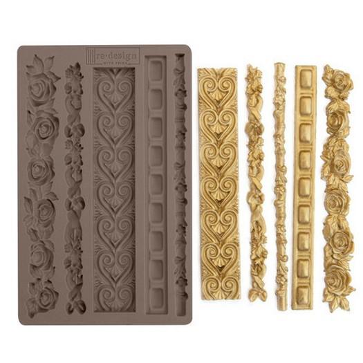 Καλούπι Re-Design Decor Mould, Elegant Borders