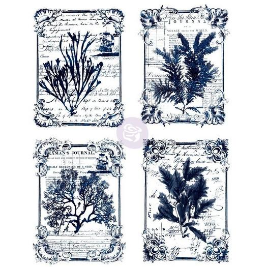 Χαρτί Decor Transfer Prima Re-Design, Seaweed, 56x76cm
