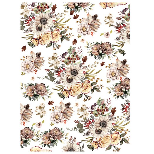 Χαρτί Decor Transfer Prima Re-Design, Sunflower Farms, 76x58,5cm