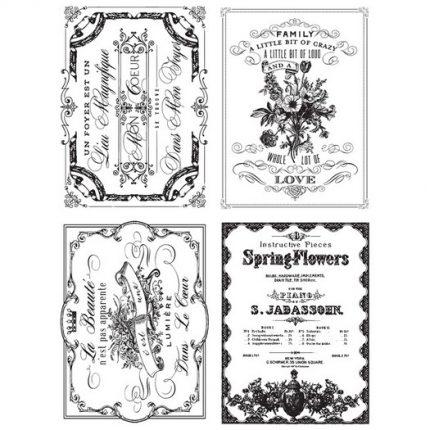 Χαρτί Decor Transfer Prima Re-Design, Spring Flowers, 61x81cm