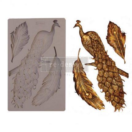 Καλούπι Re-Design Decor Mould,13x20cm, Regal Peacock