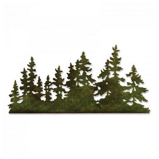 Μήτρα Sizzix ,Tree Line