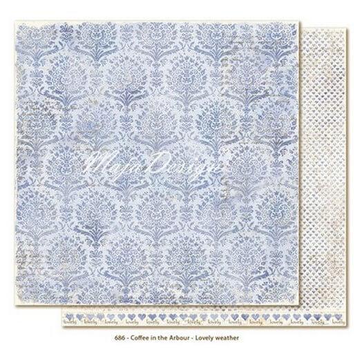 Χαρτί Scrapbooking Maja Collection, Coffee in the Arbour, διπλής όψης