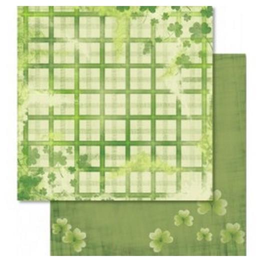 Χαρτί Scrapbooking Ursus με Glitter 30,50x30,5cm , Good Luck